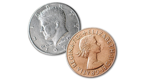 Copper&Silver Coin